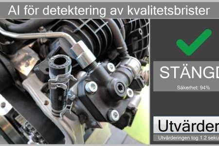 Automatiserad kvalitetsinspektion i monteringslinor med billiga vision-system (VISION)