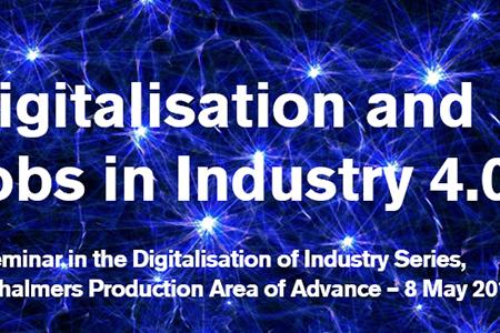 Digitalisering och jobb inom industrin 4.0