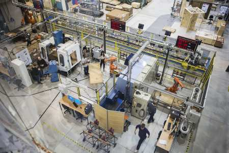 Produktionstekniskt centrum (PTC) fyller 10 år