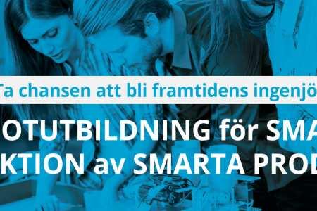 Pilotutbildning för smart produktion av smarta produkter